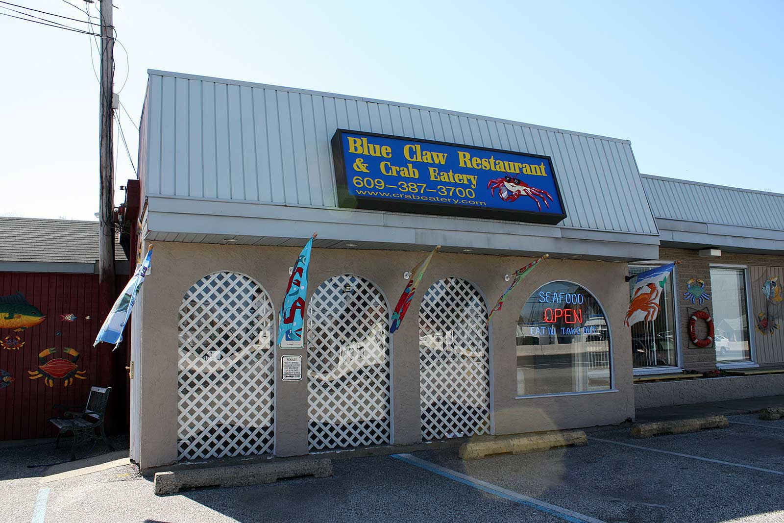 Blue Claw Crab Eatery Philadelphia Seafood Restaurant In Pa